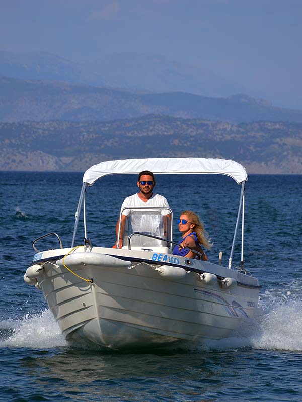30ph to 40ph Boats - Corfu Boat Hire