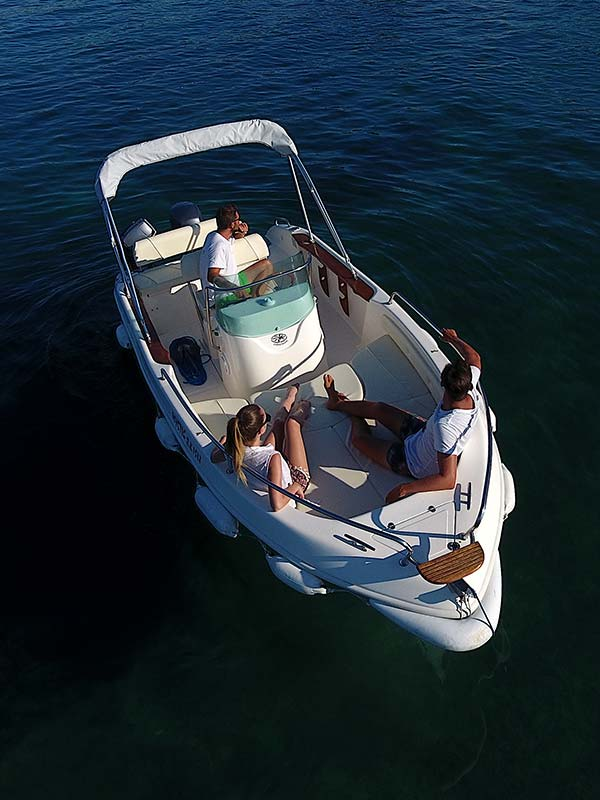 60ph to 70ph Boats - Corfu Boat Hire